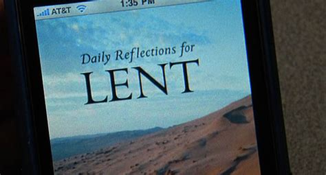 not by bread alone daily reflections for lent 2018 books new lenten reflections app for and iphone