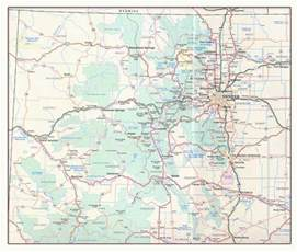 Colorado Toll Roads Map by Road Map Colorado Clubmotorseattle