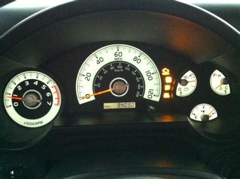 fj cruiser warning lights check engine light vsc lights on this am toyota fj