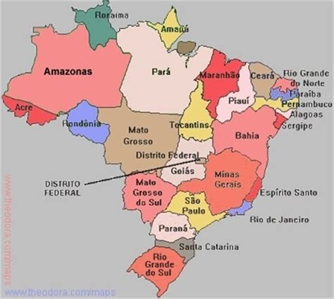 map of brazil with states photo junction brazil map photos