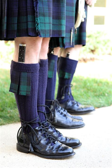 dress shoe knife a subtler tartan requires a simpler sgian dubh otherwise you you might look silly in