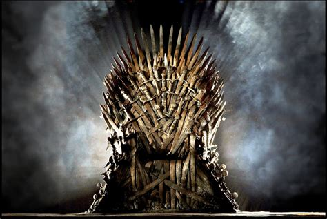 there s a theory that the iron throne itself could be the