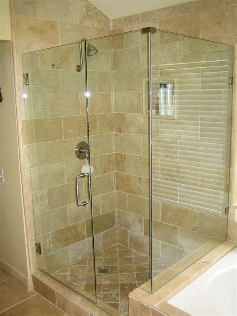 Bathroom Shower Doors Glass Some Things To Consider When Selecting Frameless Shower Doors