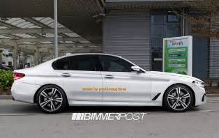 2017 bmw 5 series m sport side profile rendering indian