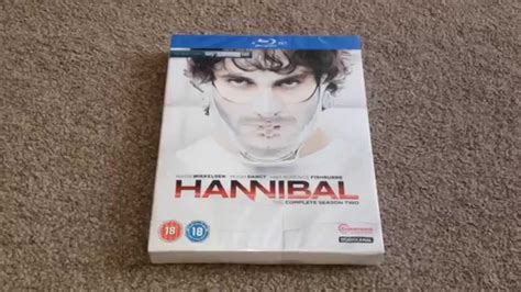 Hannibal The Complete Series Bluray hannibal the complete second season unboxing