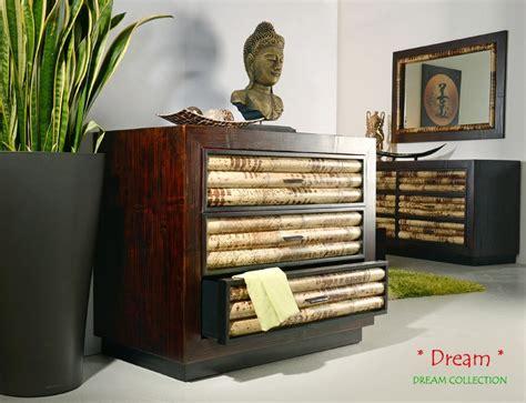 schlafzimmer bambus bambus wandspiegel