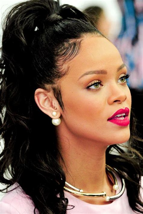 weave hair shows 2015 rihanna l christian dior cruise 2015 show in new york city