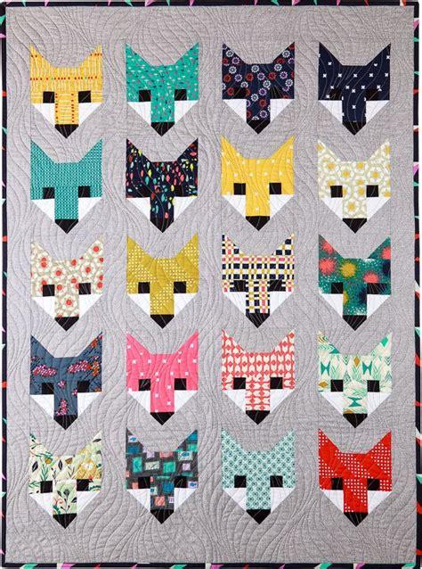 Fox Quilt Pattern by Best 25 Fox Quilt Ideas On Quilting Patterns