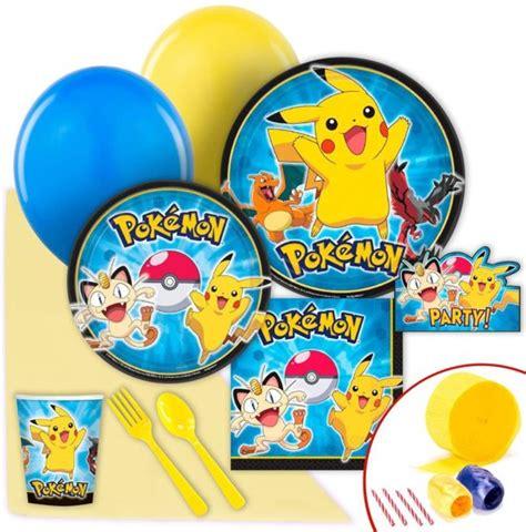 bol pokemon feestpakket makkelijkfeestje speelgoed - Buitenspeelgoed Feestje