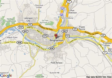 binghamton map map of binghamton regency hotel binghamton