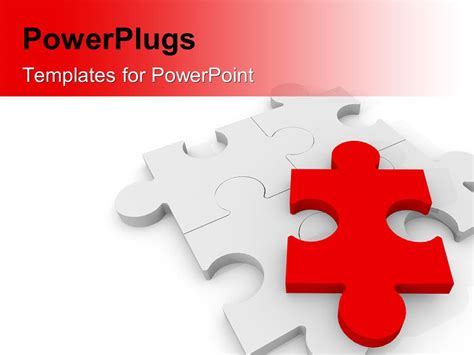 Powerpoint Template A Number Of Puzzle Pieces With White Powerpoint Puzzle Pieces Free