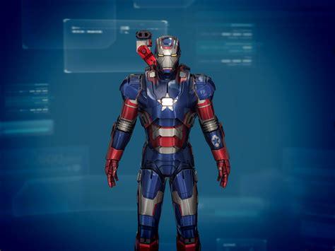 suit iron man lands ios