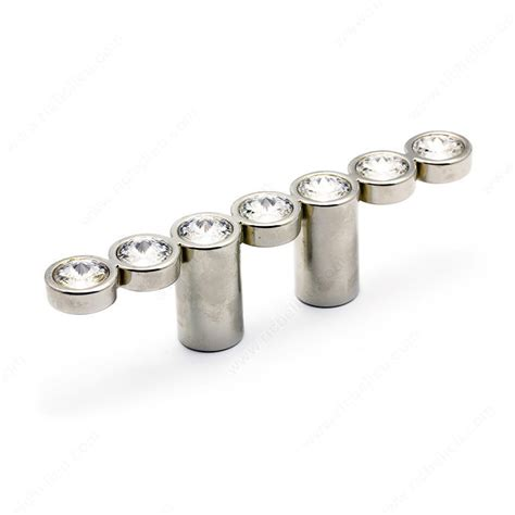 Richelieu Knobs And Pulls by Swarovski And Metal Pull 3079