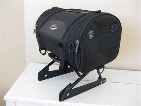 sold rigid rack and roll bag harley davidson forums