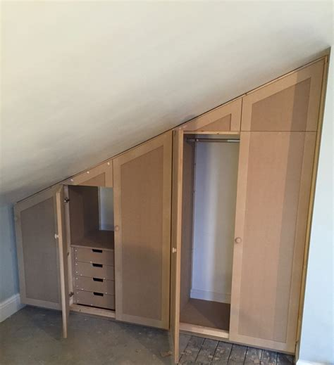 Loft Wardrobe by Wardrobes For Loft Space Timber Traditions