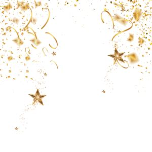 gold confetti png images vectors psdpng rose gold