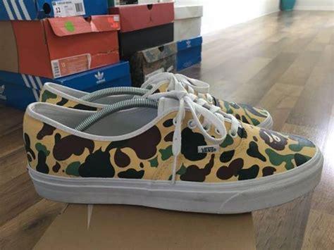 Sepatu Vans X Bape 1 of 1 bape x vans kixify marketplace