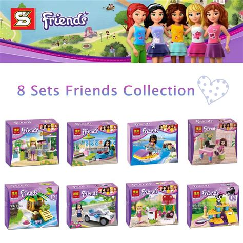 Lego Bricks Bela Friends 10557 buy lepin friends bumper cars amusement park minifigures