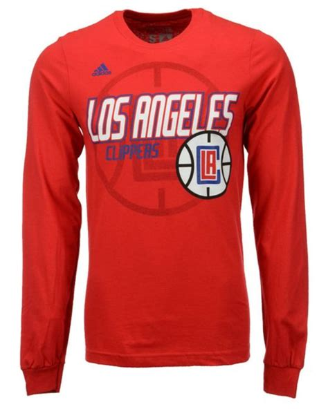 Sweater Los Angeles Redmerch adidas originals s sleeve los angeles clippers distressed back t shirt in for