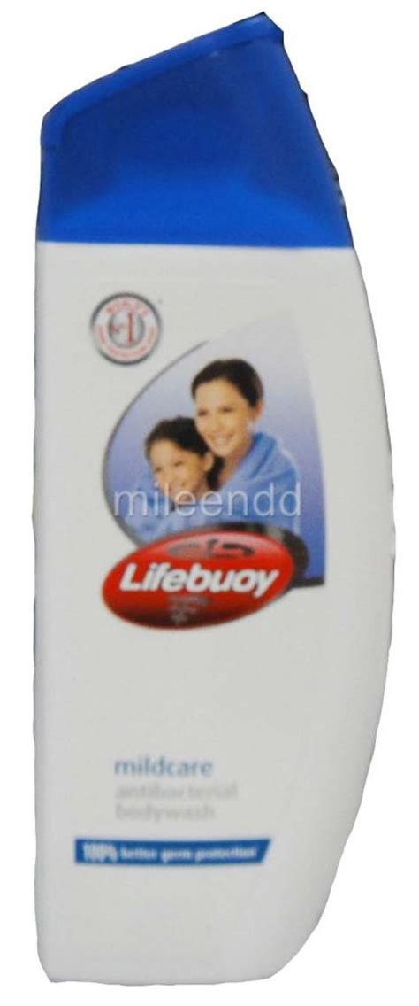lifebuoy 300ml mildcare antibacterial wash shower gel