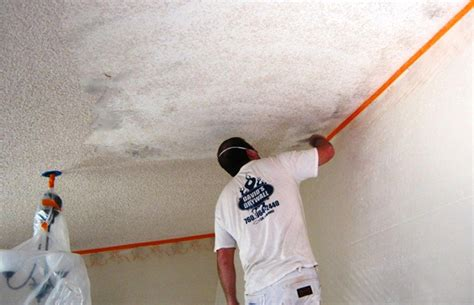 how to remove acoustic ceiling david s drywall image gallery
