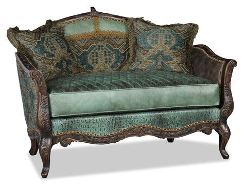 settee bench seat love seat settee with gator and diamond stitching