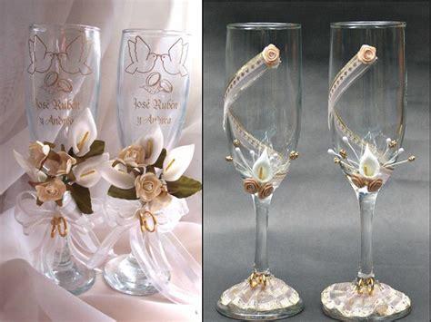 decoracion copas boda todo de novias 187 copas de brindis para boda 0