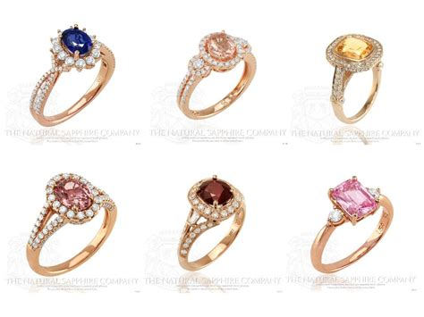 different colors of gold sapphire engagement rings the 10 ten trends for
