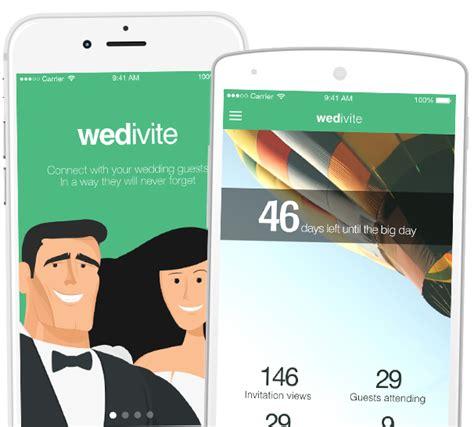 printable wedding invitations app your free digital mobile wedding invitation wedivite