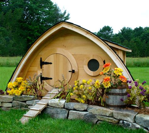 hobbit hole chicken coop small
