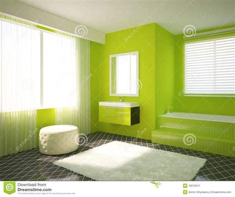 green bathroom furniture green bathroom stock image image 18579411