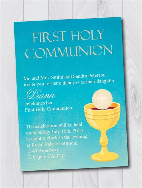 Holy Card Templates by 13 Best Holy Communion Images On