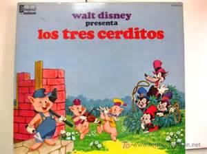libro los tres cerditos los tres cerditos walt disney lp libro di comprar discos lp vinilos de m 250 sica de bandas