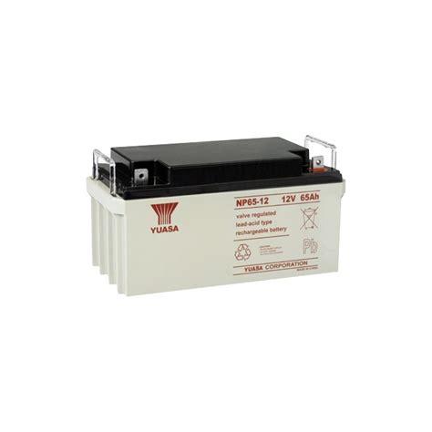 Batrey Yuasa Np 65 12 yuasa np65 12 12v 65 yuasa sla battery sealed lead acid