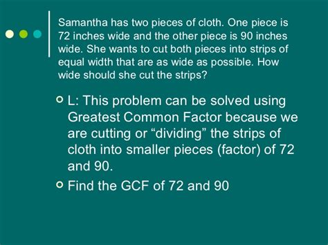 finding prime factors of n and their multiplicities gcf lcm problem solving