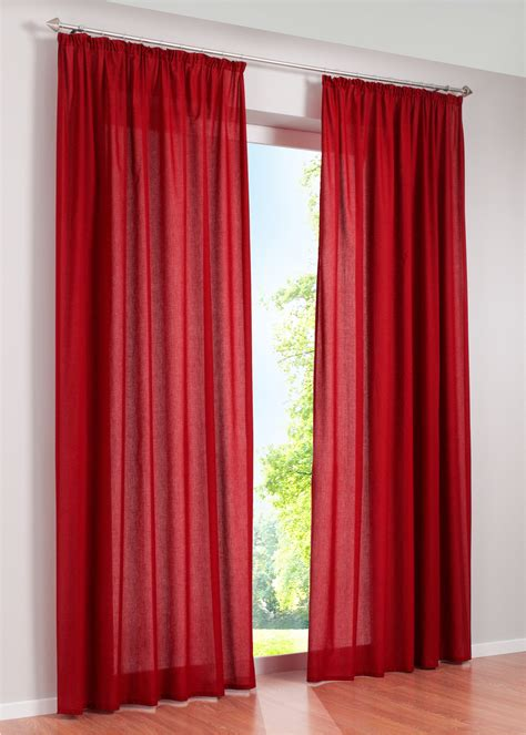 vorhang rot vorhang rot dekoration mode fashion