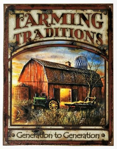 duck boat tours dayton ohio farming tradition tin metal sign barn farm tractor country