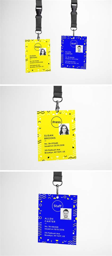 event design mockup today s special is a realistic psd mock up of a simple id