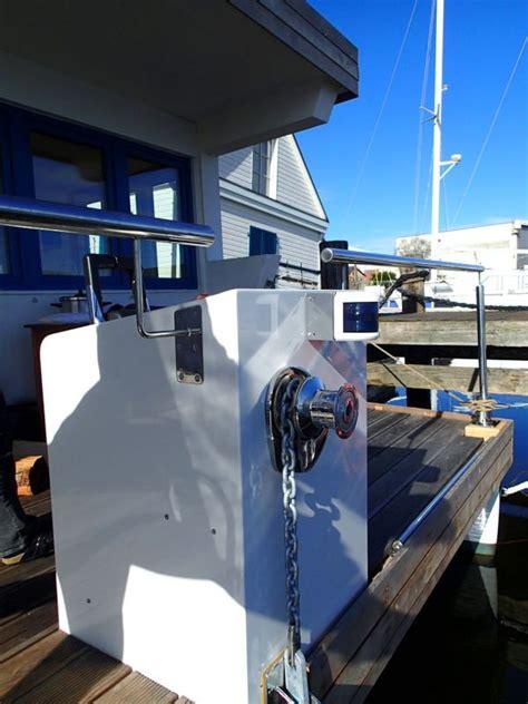 living on a boat au fotos aus der bauphase des livingboat 85 www living boat de