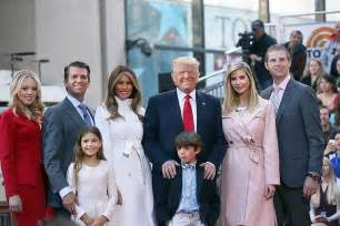 donald family photos the trump family interview on good morning america the