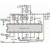 CD2003GP Radio Chip Circuit