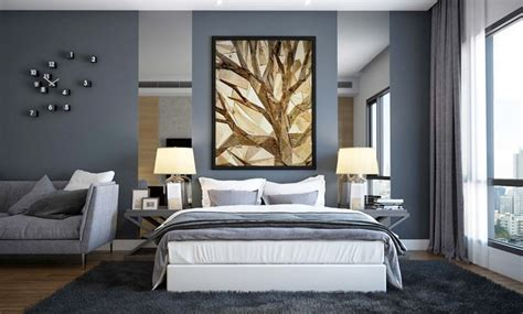 pareti grigie da letto camere da letto moderne consigli e idee arredamento di design