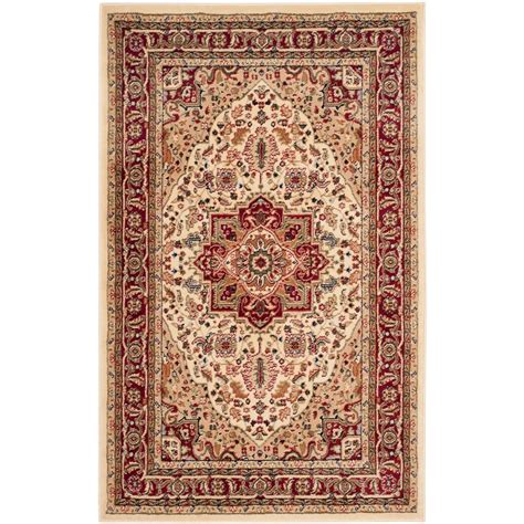 rug 3 ft safavieh lyndhurst ivory 3 ft 3 in x 5 ft 3 in area rug lnh330a 3 the home depot
