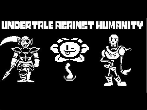 undertale cards  humanity youtube