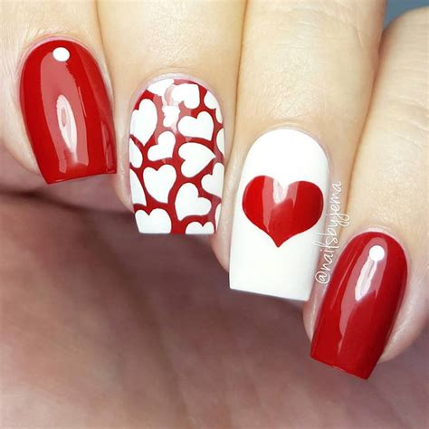 15 cute 3d valentines day nail art designs ideas 2017 vday