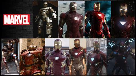 iron man evolution marvel cinematic universe