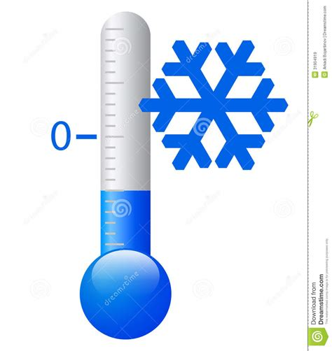 Termometer Freezer cold weather thermometer clipart clipart suggest