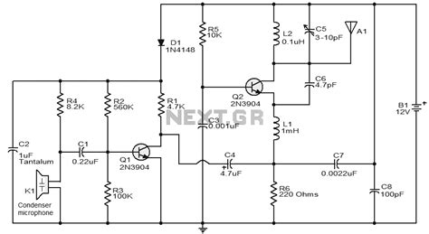 three transistor fm transmitter 3 transistor fm transmitter schematic 28 images 4 transistor transmitter schematic circuit