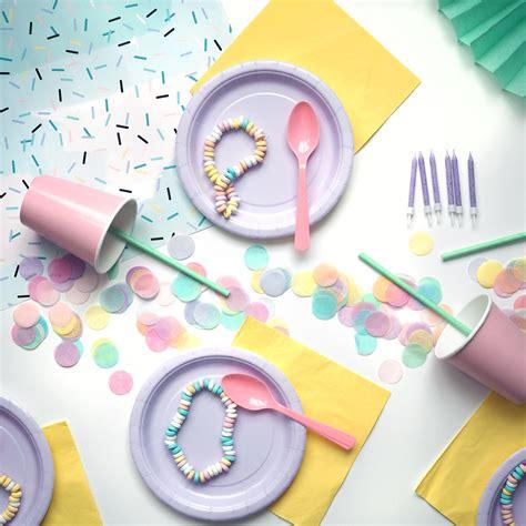 kit anniversaire pastel deco fete enfant mixte achat vente
