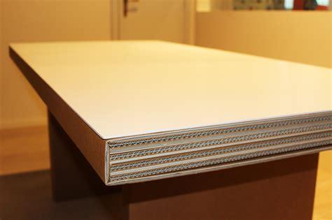 tavolo di cartone tavolo in cartone atlante di kubedesign scontato 35